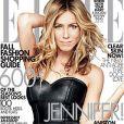 Jennifer Aniston en couverture de l'édition américaine de Elle du mois de septembre 2009