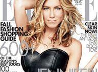 Jennifer Aniston : un bustier en cuir et un regard sexy... la belle Jen nous a encore conquis !