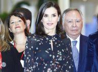 Letizia d'Espagne: Retour en couleur et transparence après les obsèques de Pilar