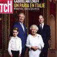 Couverture de Paris Match, jeudi 23 janvier 2020.