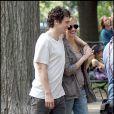 Julia Roberts et James Franco, sur le tournage de  Eat, Pray, Love , de Ryan Murphy, à New York, le 4 août 2009 !