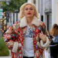 Exclusif - Gwen Stefani fait ses courses de Noël de dernière minute à Beverly Hills le 23 décembre 2019.