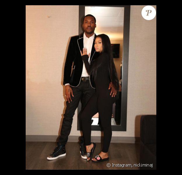 Nicki Minaj et son chéri Meek Mill au mois de novembre 2016