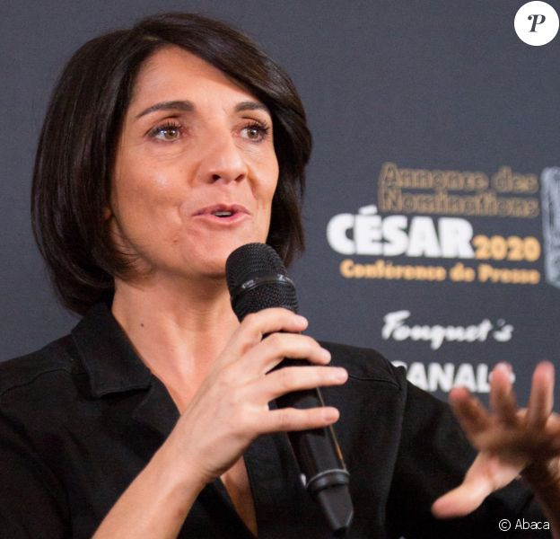 Florence Foresti attending the press conference for the next 45th Cesar ceremony 2020 held at Fouquet's restaurant in Paris, France on january 28, 2020. Photo by Nasser Berzane/ABACAPRESS.COM