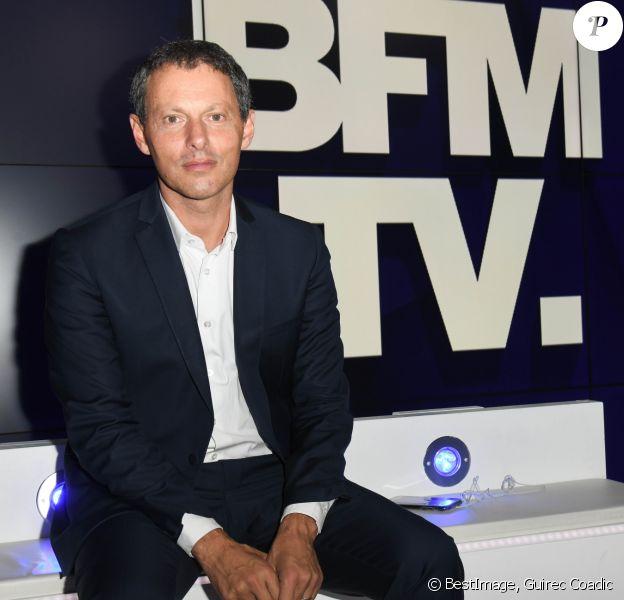 Marc-Olivier Fogiel, PDG de BFM.TV - Conférence de presse de rentrée de BFM.TV à Paris le 5 septembre 2019. © Guirec Coadic / Bestimage
