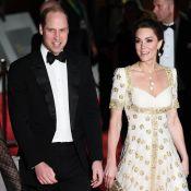 """Kate Middleton """"magnifique"""" aux BAFTA, William hilare après un compliment de fan"""