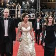 Le prince William, duc de Cambridge et Catherine Kate Middleton, la duchesse de Cambridge lors de la 73e cérémonie des British Academy Film Awards (BAFTA) au Royal Albert Hall à Londres, le 2 février 2020.