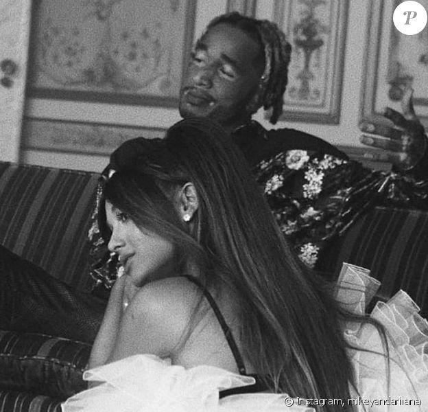 Mikey Foster et Ariana Grande- Instagram.