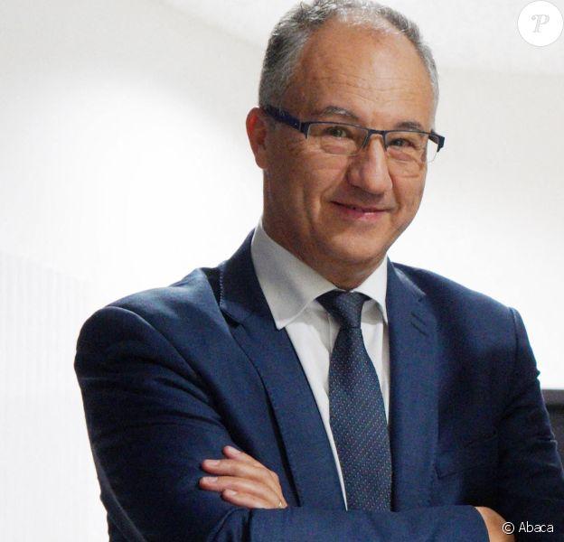Portrait de Saïd Chabane, président du SCO d'Angers. Portrait dans les couloirs du stade le 9 novembre 2018. Photo by Druais/ANDBZ/ABACAPRESS.COM