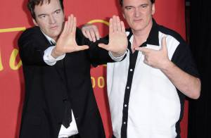 Quentin Tarantino : sa statue de cire est mieux... que l'original !