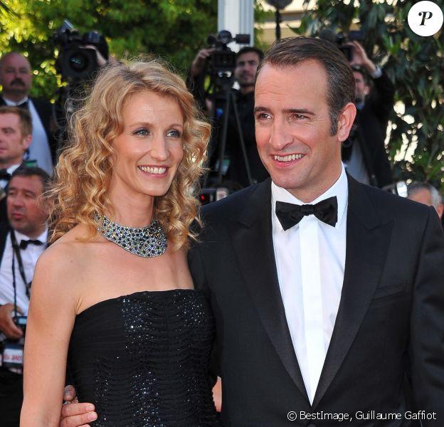 Alexandra Lamy et Jean Dujardin au 64ème Festival de Cannes le 15 mai 2011. © Guillaume Gaffiot/Bestimage 15/05/2011 - Cannes