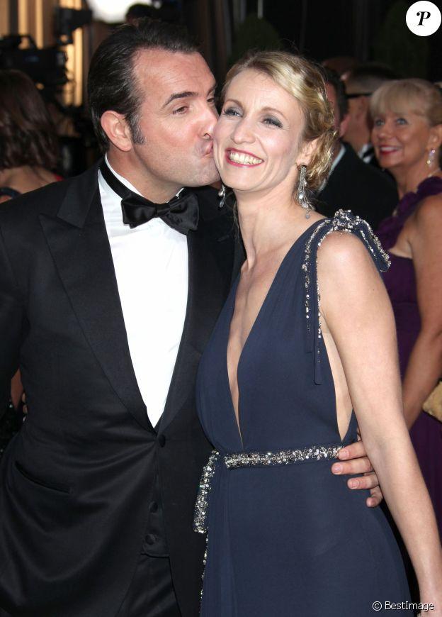 Jean Dujardin et Alexandra Lamy, victimes de la malédiction des Oscars.