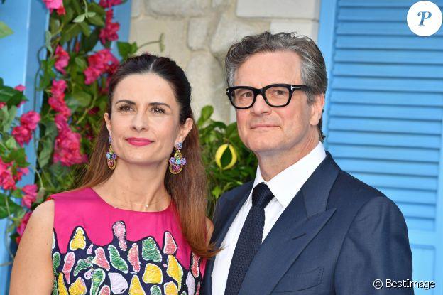 Colin Firth et Livia Giuggioli, victimes de la malédiction des Oscars.