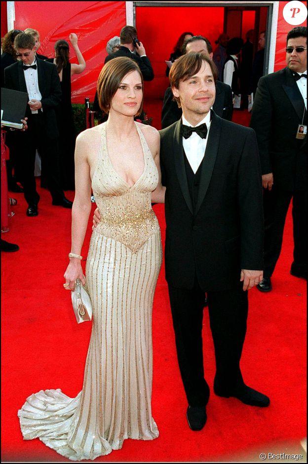Hilary Swank et Chad Lowe, victimes de la malédiction des Oscars.