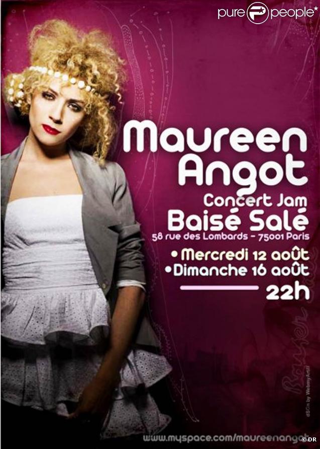 Maureen de la Star Academy 7 en concert