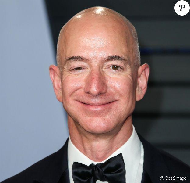 Jeff Bezos à la soirée Vanity Fair Oscar au Wallis Annenberg Center à Beverly Hills, le 4 mars 2018