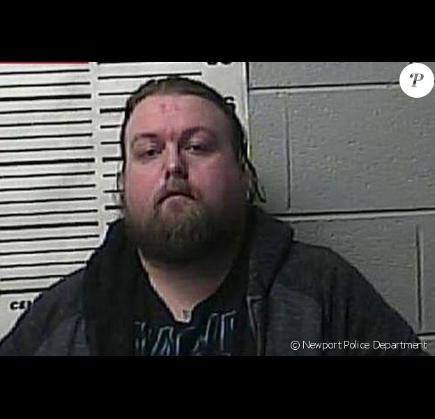 Photo de Josh Turner lors de son arrestation.