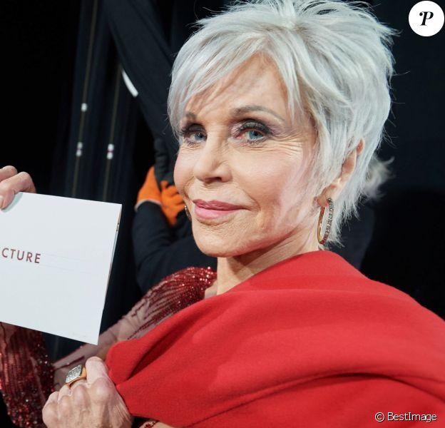 Jane Fonda lors de la 92e cérémonie des Oscars 2020 au Hollywood and Highland à Los Angeles, Californie, Etats-Unis, le 9 février 2020. © CPA/Bestimage