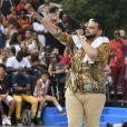 Exclusif - Sadek, de son nom complet Sadek - Quai 54 World Streetball Championship sur la pelouse de Reuilly à Paris, France, le 8 juillet 2017. © Pierre Perusseau/Bestimage