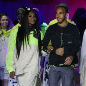 Naomi Campbell : Complice avec Lewis Hamilton à la Fashion Week