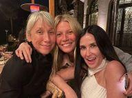 Gwyneth Paltrow : Soirée sans maquillage avec Demi Moore et Kate Hudson