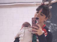 Alizée maman : Nouvelle photo de son bébé Maggy, assoupie