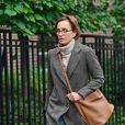 Exclusif - L'actrice anglaise Kristin Scott Thomas à Londres, le 7 octobre 2019.