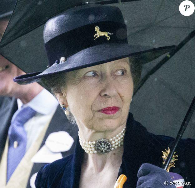 La princesse Anne d'Angleterre à Ascot 2019 le 19 juin 2019.