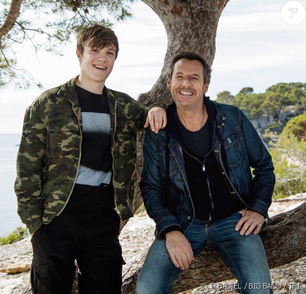 """Lenni-Kim sera dans la série """"Léo Mattéi, Brigade des mineurs"""" pour le grand retour de la fiction de TF1, jeudi 27 février. Il donnera la réplique à Jean-Luc Reichmann."""
