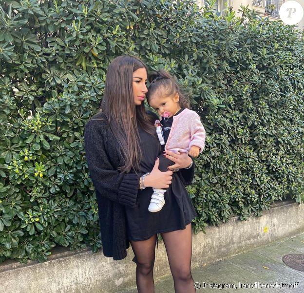 Liam Di Benedetto avec sa fille Joy, le 12 février 2020