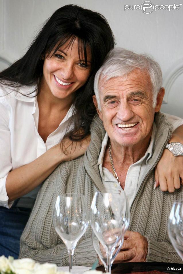 Jean-Pal Belmondo et Barbara Gandolfi... inséparables depuis un an, malgré les problèmes de la belle brune avec la justice belge...