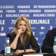 "Virginie Efira, Omar Sy à la conférence de presse du film ""Police Night Shift"" lors de la 70ème édition du festival international du film de Berlin (La Berlinale 2020), le 28 février 2020. © Future-Image via Zuma Press/Bestimage28/02/2020 - Berlin"