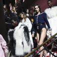 Bella Hadid - Défilé Miu Miu collection prêt-à-porter Automne/Hiver 2020-2021 lors de la Fashion Week à Paris, le 3 mars 2020.