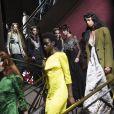 Défilé Miu Miu collection prêt-à-porter Automne/Hiver 2020-2021 lors de la Fashion Week à Paris, le 3 mars 2020.