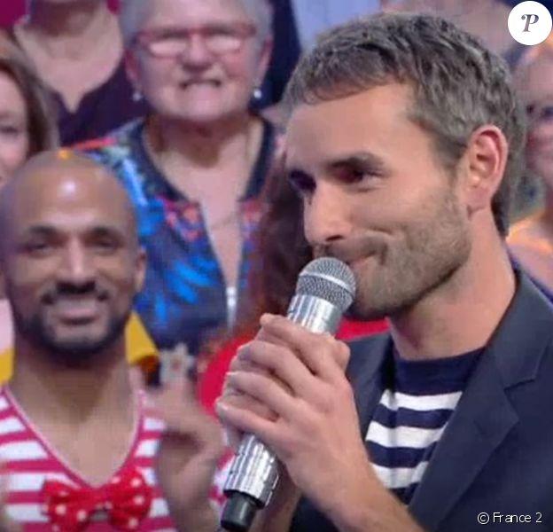 """Mickaël de """"N'oubliez pas les paroles"""", le 3 mars 2020, sur France 2"""