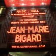 """Exclusif - Atmosphère du spectacle """"Il Etait Une Fois Jean-Marie Bigard"""" à L'Olympia de Paris, France, le 27 février 2020. © Philippe Baldini/Bestimage"""