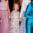 """Princesse Estelle - La famille royale de Suède assiste au concert de l'école de musique """"Lilla Akademien"""" à Stockholm, le 13 février 2020."""