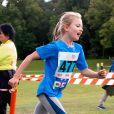 La princesse Estelle de Suède - Les enfants du prince Daniel participent à la journée Pep au parc Hagaparken à Stockholm, le 8 septembre 2019