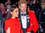 Meghan Markle en robe incendiaire au bras d'Harry, ultra chic en uniforme