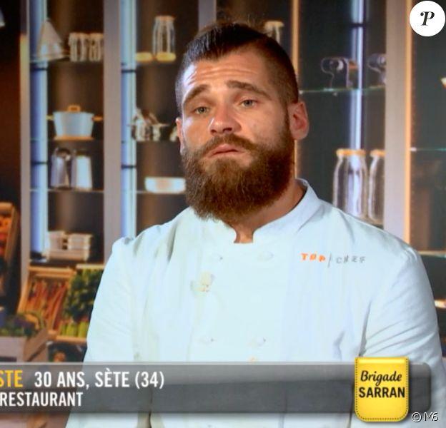 """Jordan dans """"Top Chef"""" mercredi 11 mars 2020 sur M6."""