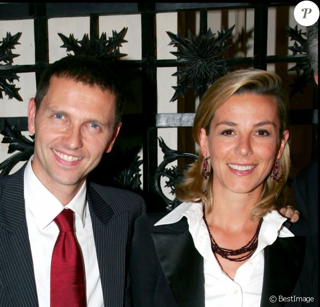 Thomas Hugues et Laurence ferrari en juin 2006.