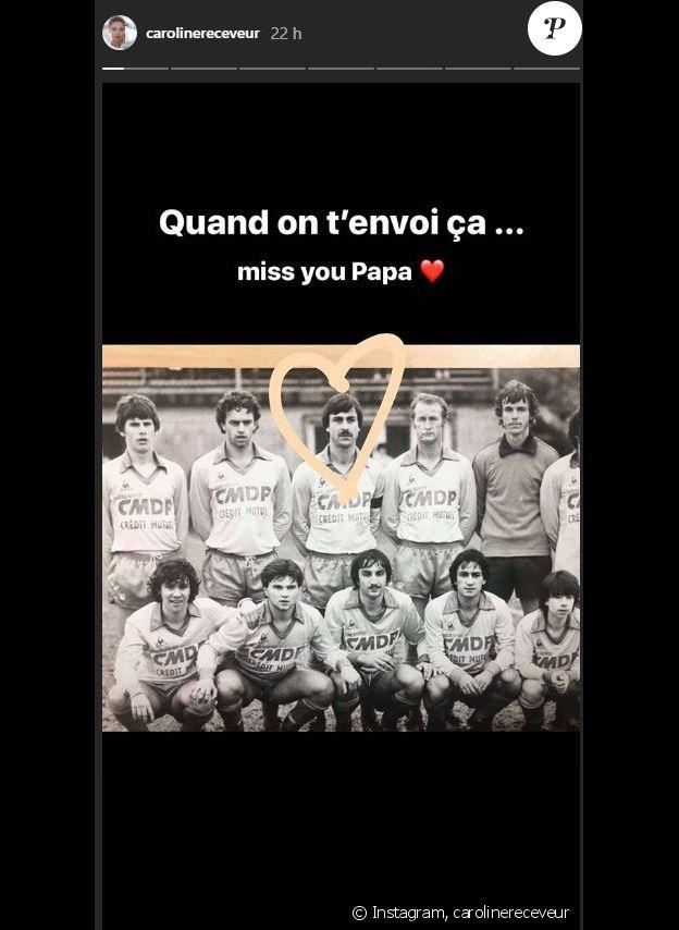 Caroline Receveur dévoile une touchante photo de son papa sur Instagram, le 11 mars 2020