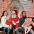 Conor McGregor, sa compagne Dee et leurs enfants Conor Jr. et Croia, photo Instagram Noël 2019