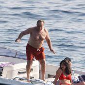 Jack Nicholson, un septuagénaire torse nu, très bien dans sa peau... et dans ses Crocs !