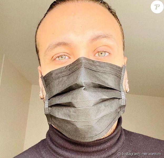 Merwan Rim a fait savoir le 15 mars 2020, sur Instagram, qu'il a été testé positif au coronavirus.