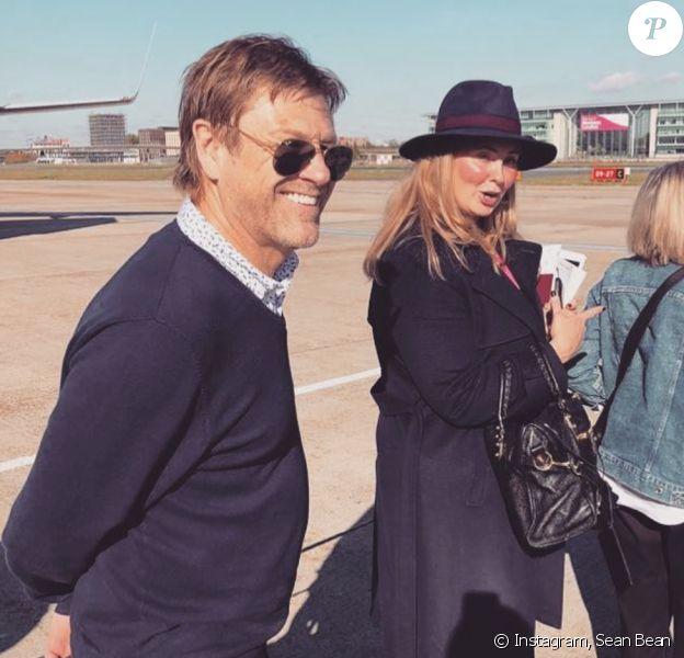 Sean Bean et son épouse Ashley Bean. Octobre 2018.