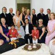 Céline Dion réunit toute sa famille pour les 90 ans de sa maman Thérèse - Photo publiée sur Instagram le 20 mars 2017