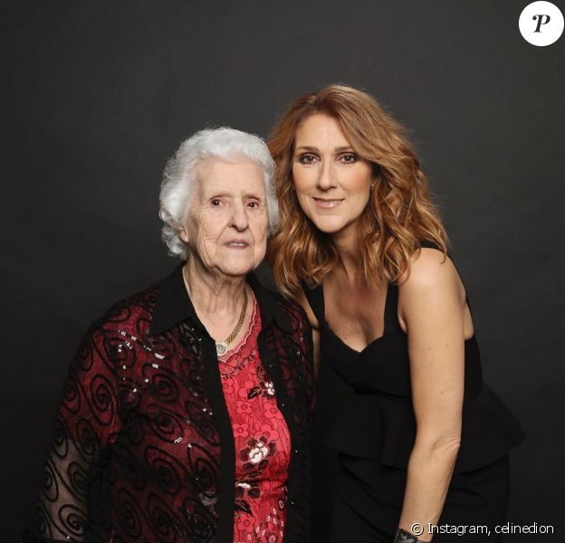 Céline Dion avait partagé cette photo d'elle et de sa maman Thérèse sur Instagram, en mai 2019.