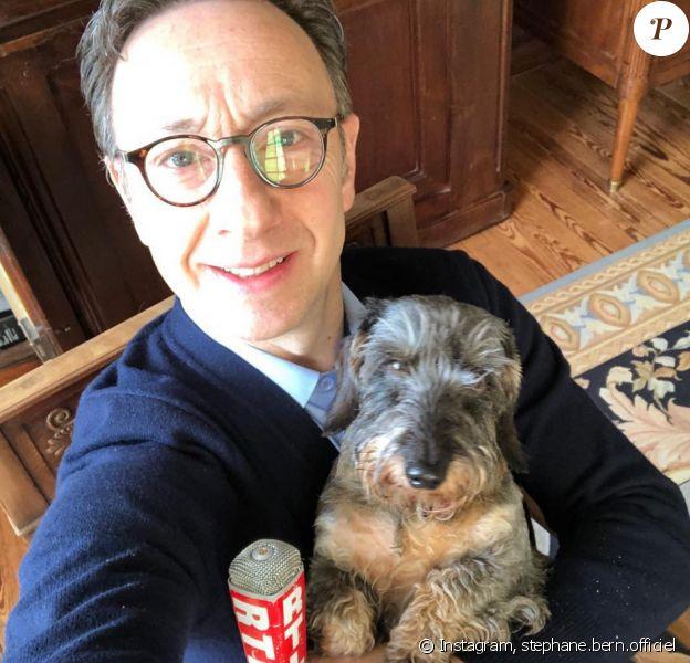 Stéphane Bern en confinement chez lui - Instagram, 20 mars 2020