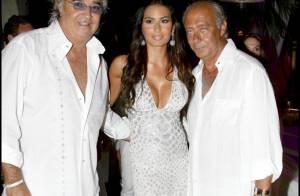 La belle Elisabetta Gregoraci et son Flavio Briatore de mari, Naomi Campbell et son chéri... tous ont célébré le joaillier des stars !